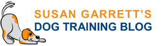 Susan Garrett's Dog Training Blog Logo